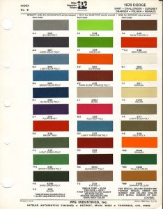 1970-Dodge-Charger-Factory-Paint-Chip-Chart-500px-Wide