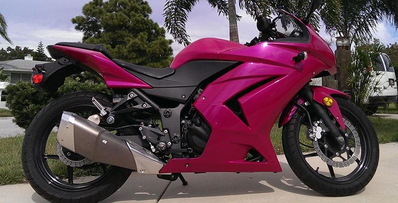 Urechem Automotive Paints   Hot Pink   Pearl Automotive Colors