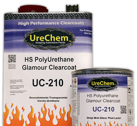 Urechem Automotive Paint Clearcoat and Paint