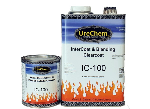 UreChem Automotive Paints | ic-100 Intercoat & blending clearcoat